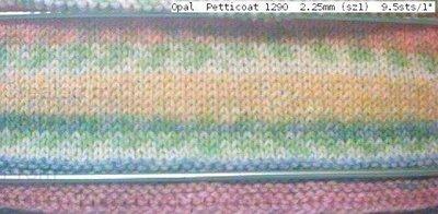 "Opal  Palette 1290  2.25mm (sz1) 8.5sts/1"""