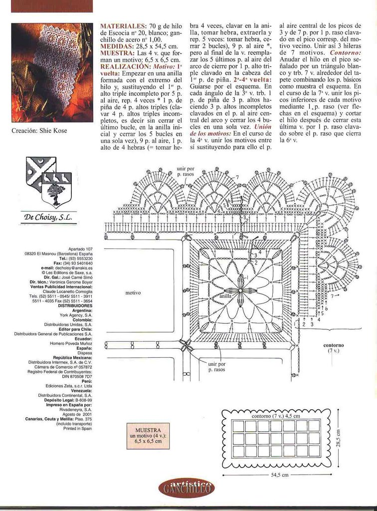 Carpetas Rectangulares Tejidas Al Crochet Patrones - Carpet The Honoroak