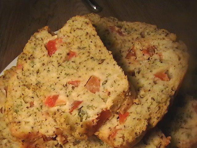 Cake Au Chevre Et Olive