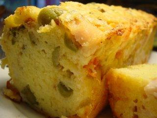 Cake Poulet Tomate Chevre