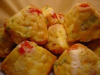 Cake Poivrons Feta Chorizo