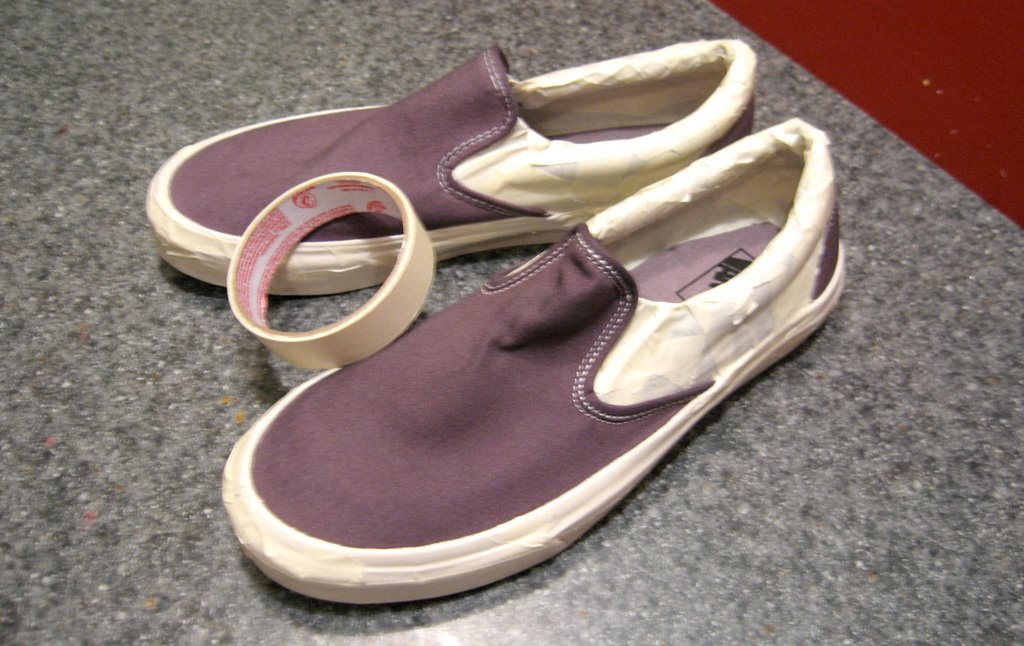 vans shoe spray