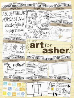 Art For Asher © Digital Desgin Essentials