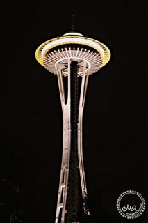A shot of the Space Needle right before we headed back to the hotel