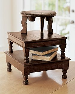 Pottery Barn - Wooden Pedestals