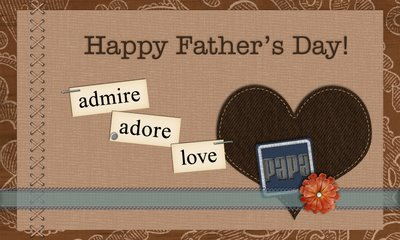 Happy Father's Day Card for my Papa