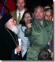 Castro dándole instrucciones a la Ortodoxia