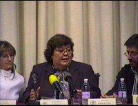 Cristina Almeida en el Ateneo