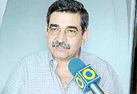 Guillermo Palacios, coordinador general del Comando de Campaña del candidato Manuel Rosales