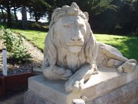 Stone Lion at Sutro Heights Park (c) KR Silkenvoice 2006