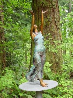 Woman at Big Rocks (c) KR Silkenvoice