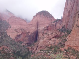 The Sandstone Pudendum in Kolob Canyon, Zion National Park, Utah, USA (c) KR Silkenvoice