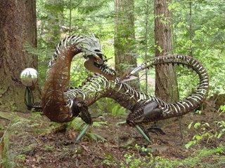 Forest Dragon (c) Kayar Silkenvoice
