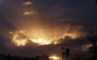Glorious sunrise (c) KR Silkenvoice 2006