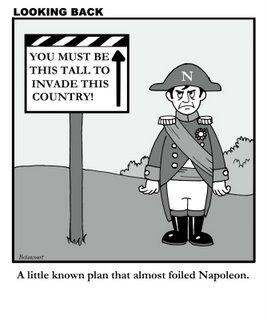 Napoleon thwarted