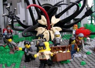 Cthullu em Lego