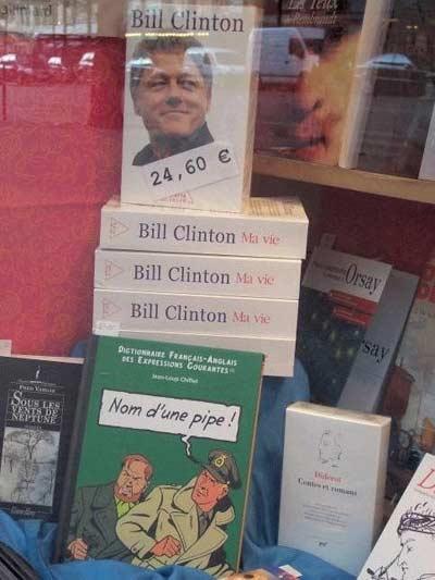 Livre de Bill Clinton... bien positionné !