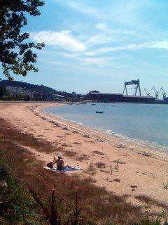 Praia de San Valentín