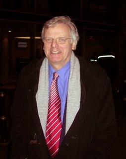 Celebrity Charlton fan Michael Grade CBE