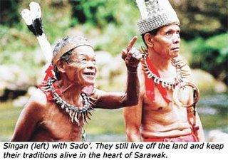 Tringgus Borneo Tribe