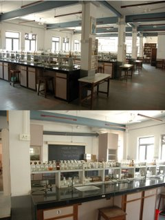 Chemistry Laboratory Composite, 59er Hasnain Chinwala / Chhaya Purwar collection