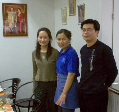 Chilli, Pailin and Bill