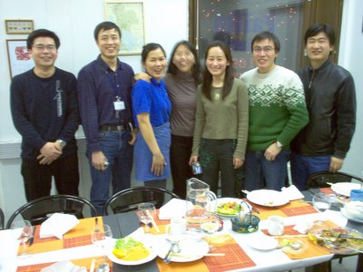 Chinese group at Oulu Flextronics dined at the Pailin Thai Restaurant