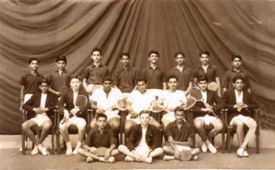 1959 Cathedral Rackets Team
