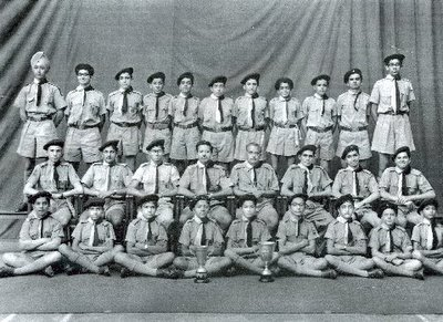 Cathedral Scout Troop 1960