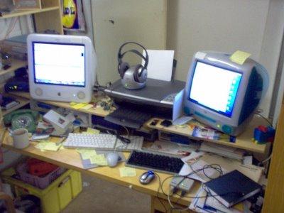 Cellar arrangement for working Macs