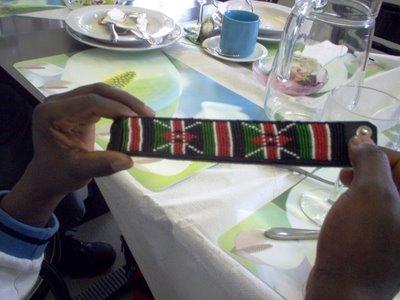 Kenyan Bead Art