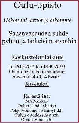 Poster from Yrjö