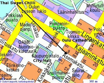 Location of Thai sweet Chili Grocerry Store