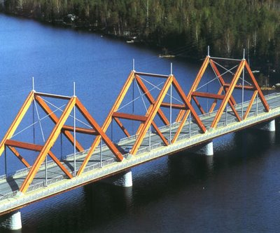 Vihantasalmi Bridge in Finland