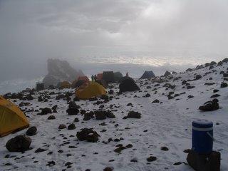 Snowy Arrow Camp
