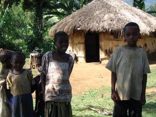 Boma in village near Arusha