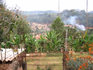 View from Mandarin View Inn