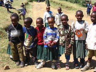 Village school children near Arusha