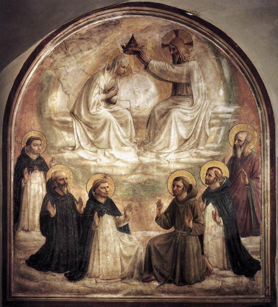 UN RATO DE ARTE : La coronación de la Virgen