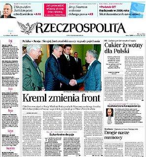 Un ejemplar de Rzeczpospolita