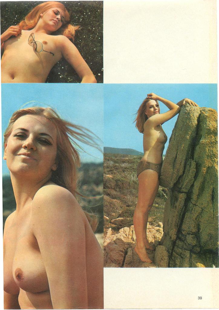alaston nainen näyttää kaiken Kotka