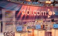 AOLのブース