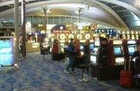 空港内でもカジノ