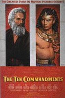 Poster for The Ten Commandments