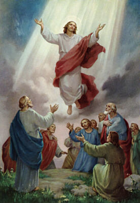 Christ Jesus Our Lord Ascending in Glory