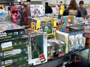 Além de tudo, brinquedos para colecionadores!