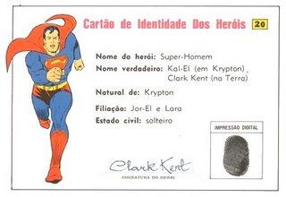 RG do Super-Homem
