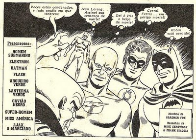 A Liga da Justiça, como sempre, encrencada!