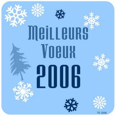 Meilleurs Voeux 2006