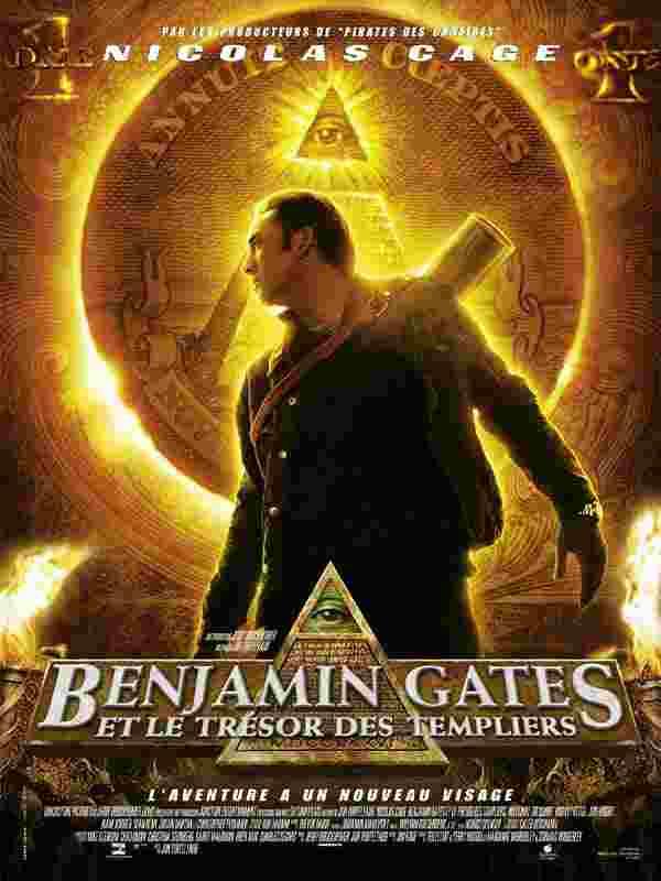 Parodie de 'Benjamin Gates et le Trésor des Templiers'